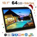 "10.1""Tablette Tactile Android 6.0 Octa-Core1G + 16G Dual SIM&Camera Wifi PC Tablette Ecaran 2560 x1600 IPS de la marque Ouneed image 2 produit"