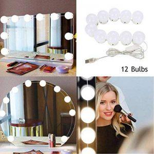 10pcs kit de lumière de miroir de Comestic de maquillage de LED avec l'ampoule de Dimmable de la marque Yotown image 0 produit