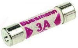 10x 3A 3 Amp Bussmann BS1362 Domestic Electrical Household Home and Office Mains Plug Top Cartridge Fuse by Bussmann de la marque Bussmann image 0 produit