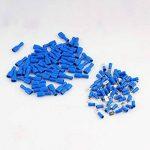 110x Cosse Electrique Plate 6.3 mm Bleue - 55x Male et 55x Femelles (Pour fils jusqu'à 1.1mm to 2.6mmà²)-CE,RoHS Certification de la marque Boxcute image 4 produit