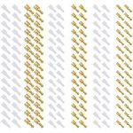 180PCS Cosses électriques 2,8 mm 4,8 mm 6,3 mm Nabance Connecteurs à Sertir Plates Connecteur Cosses électriques Femelle Cosses électriques Terminal avec Cosse Manchon Isolant pour Connecteur Cosses électriques de la marque Nabance image 4 produit