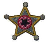 2Patch de Broderie repassage ou Diplodocus 10x 8cm étoile du shérif 9x 10cm thermocollant brodé Applique murale pour vêtements avec conception de TrickyBoo Suisse Zurich par Espagne de la marque TrickyBoo image 1 produit