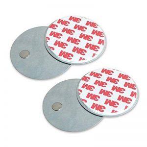 2 supports de fixation pour caméras de sécurité, des détecteurs de mouvement ou sonnette sans fil - Installation facile - Lot de 2 - 4VWIN de la marque 4VWIN image 0 produit