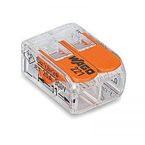 20x Wago Compact–avec levier de commande–2vitesses–221–412–levier Clip–Boîte de la marque Wago image 0 produit