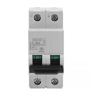 250V DC 2P Disjoncteur miniature d'air à basse tension Commutateur d'énergie solaire 16A/32A/63A(63A) de la marque Hilitand image 0 produit