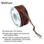 280m 8 Fils 30AWG Rouleau de Câble Electrique de Cuivre Etamé Isolant en PVC P/N B-30-1000 de la marque Walfront image 2 produit