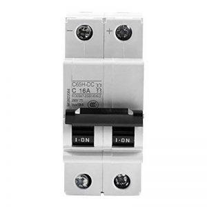2P 250V basse tension DC miniature Disjoncteur pour panneaux solaires Système de grille support de rail DIN 16A de la marque Walfront image 0 produit