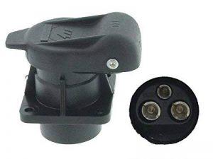 3 Broches prise dIN 9680 en plastique 4 anschraubpunkte 12 v de la marque DT image 0 produit