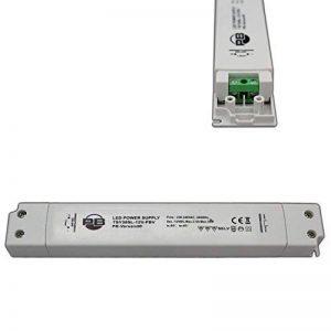 30W LED Ampoule Alimentation Transformateur 12V DC Ultra Plat allongé (très design plat) 1–30W pilote Transformateur mm encastrable pour meuble–PB de livraison® de la marque PB-Versand image 0 produit