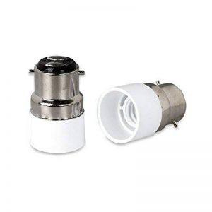 4pcs haute qualité B22vers E14Culot à vis ampoule LED prise de base adaptateur convertisseur Fitting Extender support ampoule à économie d'énergie de la marque Huahan Haituo image 0 produit