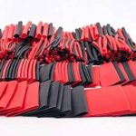 428pcs Rouge Noir assortis Heat Shrink Tube 2couleurs 10tailles Tube Wrap manches Ensemble de Combo de la marque SL image 1 produit