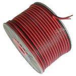 50m d'extension Rallonge câble 2Core Noir Rouge 12V 12Volt Amp voiture automatique Van Bateau bande LED Audio câble de haut-parleur mkshop® de la marque MkShopUk image 1 produit