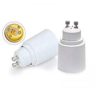 5x Convertisseur Base Ampoule GU10 vers E27 Support Adaptateur Prise Lampe de la marque VEDA™ image 0 produit