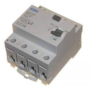 63A 30mA RCD à Trip commutateur 4Pole Rail DIN trois phases 400V de la marque ESR image 0 produit