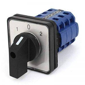 660V 12A 3 Position came rotative Combinaison Interrupteur inverseur universel CA10 de la marque sourcing map image 0 produit