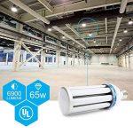A Mené La Lumière de Cron (Blanc, 65W-E27) de la marque Derlights image 4 produit