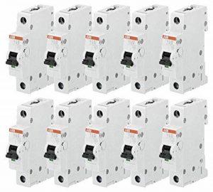 ABB S201-B16 Disjoncteur automatique compact, Pack 10 de la marque ABB image 0 produit