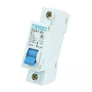 AC 230/400 V 1A 1 pôle Protection contre les surcharges Disjoncteur MCB DZ47-63 de la marque sourcing map image 0 produit