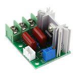 AC 50–220V 2000W SCR Régulateur de tension électrique modulaire Groupe de tension Stabilisateur Transformateur Lumière Interrupteur sélecteur de température/moteur avec régulation de vitesse. de la marque Walfront image 1 produit