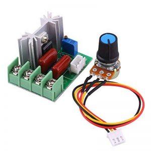AC 50–220V 2000W SCR Régulateur de tension électrique modulaire Groupe de tension Stabilisateur Transformateur Lumière Interrupteur sélecteur de température/moteur avec régulation de vitesse. de la marque Walfront image 0 produit