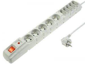 Acar S10 Parasurtenseur 10prises 1,5m Gris de la marque ACAR image 0 produit