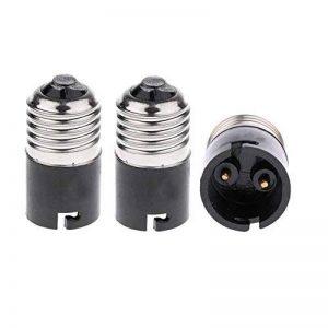 Adaptateur- convertisseur d'ampoules E27 à B22 FINELED, convertisseur de culot d'ampoule baïonnette E27 Edison vers B22 (paquet de 3) de la marque FINELED image 0 produit
