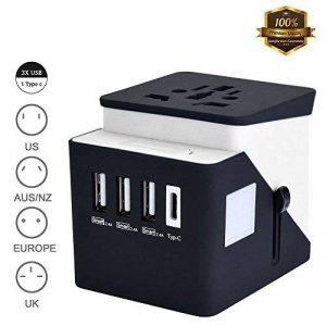 adaptateur courant suisse TOP 11 image 0 produit