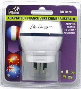 Adaptateur De Voyage France Vers Australie/Chine - Gamme Bulle- BB0128 - LTE Design - Leach Travel Europe de la marque LTE Design image 0 produit