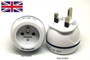 Adaptateur De Voyage France Vers Grande Bretagne GB / Angleterre / UK - Gamme Bulle- BB0165 - LTE Design - Leach Travel Europe de la marque LTE Design image 0 produit