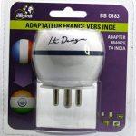 Adaptateur De Voyage France Vers Inde - Gamme Bulle- BB0183 - LTE Design - Leach Travel Europe de la marque LTE Design image 2 produit