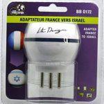 Adaptateur De Voyage France Vers Israël - Gamme Bulle- BB0172 - LTE Design - Leach Travel Europe de la marque LTE Design image 2 produit