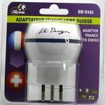 Adaptateur De Voyage France Vers Suisse - Gamme Bulle- BB0163 - LTE Design - Leach Travel Europe de la marque LTE Design image 2 produit