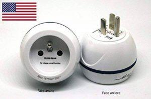 Adaptateur De Voyage France Vers États-Unis / USA - Gamme Bulle- BB0166 - LTE Design - Leach Travel Europe de la marque LTE Design image 0 produit