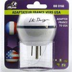 Adaptateur De Voyage France Vers États-Unis / USA - Gamme Bulle- BB0166 - LTE Design - Leach Travel Europe de la marque LTE Design image 2 produit
