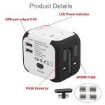 adaptateur electrique pour les etats unis TOP 6 image 1 produit