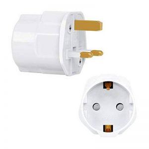 adaptateur électrique type g TOP 2 image 0 produit