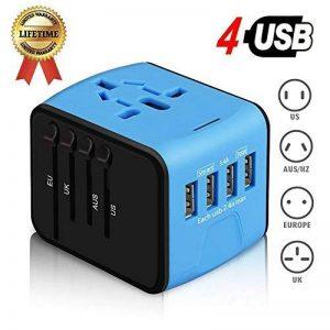 adaptateur électrique universel tous pays TOP 9 image 0 produit