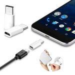 Adaptateur micro-USB femelle vers USB C mâle Blanc de la marque Color Dreams Smart Products image 4 produit