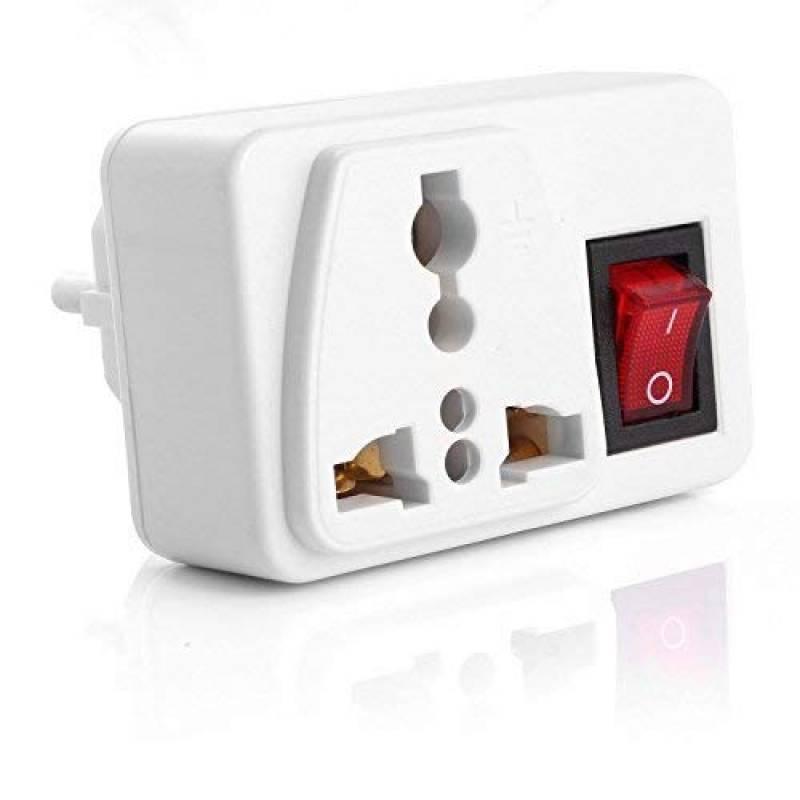 Heavy Duty UK 1 A rasoir électrique rasoir Adaptateur brosse à dents Plug Socket Converter