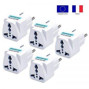 adaptateur secteur francais anglais TOP 6 image 0 produit
