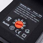 Adaptateur secteur universel, PChero AC / DC Adapter Switching Power Supply avec Six Adaptateur Plugs de la marque PChero image 4 produit