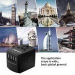adaptateur secteur universel TOP 12 image 2 produit