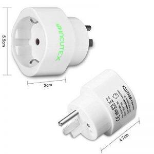 adaptateur thaïlande electricité TOP 10 image 0 produit