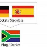 adaptateur universel prise secteur électrique voyage TOP 1 image 3 produit