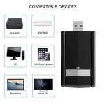 Adaptateurs USB Wifi, M.Way Clé Wifi USB 3.0 avec Antenne Double Bande AC1200Mbps Deux Fréquences 2,4/5 GHz 802.11n/g/b/a/ac Wi-Fi Dongle sans fil Compatible avec Linux / Windows XP / VISTA / 7 / 8/10, Mac OS X 10.6-10.12 1200Mbps de la marque M.Way image 3 produit