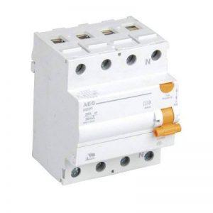 AEG 40270pannes courant Disjoncteur 4pôles 25A 30mA de la marque AEG image 0 produit