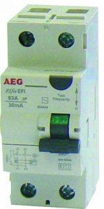 AEG AUN604449 Inter Différentiel 63 A 30 mA Type AC de la marque AEG image 0 produit
