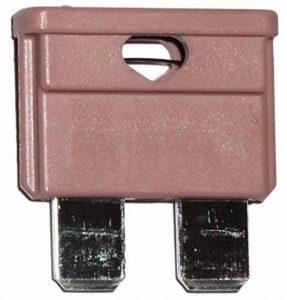 AERZETIX: 10 fusibles 3A midi 19mm 6V 12V 24V 32V pour auto moto voiture camion poids lourds de la marque AERZETIX image 0 produit