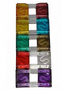 AERZETIX: 10 fusibles MAXI 29mm 20/30/40/50/60/70/80/90/100A pour auto voiture de la marque AERZETIX image 0 produit