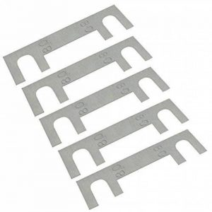 AERZETIX: 5 fusibles 80A à languettes lames pour porte-fusibles courant fort de la marque AERZETIX image 0 produit